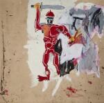 Jean-Michel Basquiat 尚・米榭・巴斯基亞   Untitled (Red Warrior) 無題(紅戰士)
