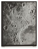 LUNAR ORBITER IV. CRATER SCHICKARD AND ENVIRONS, 1967.