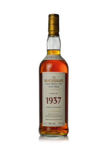View 1. Thumbnail of Lot 30. The Macallan Fine & Rare 32 Year Old 43.0 abv 1937 (1 BT75cl).