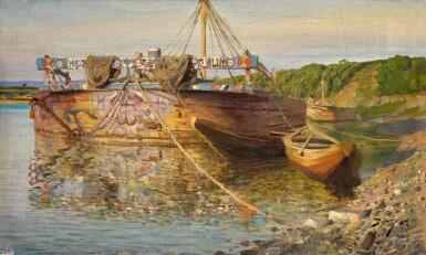 VASILY DMITRIEVICH POLENOV | BARGE