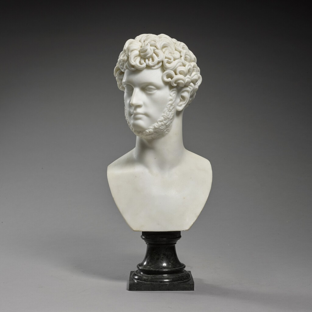 ATTRIBUTED TO LORENZO BARTOLINI (1777-1850) | BUST OF A MAN
