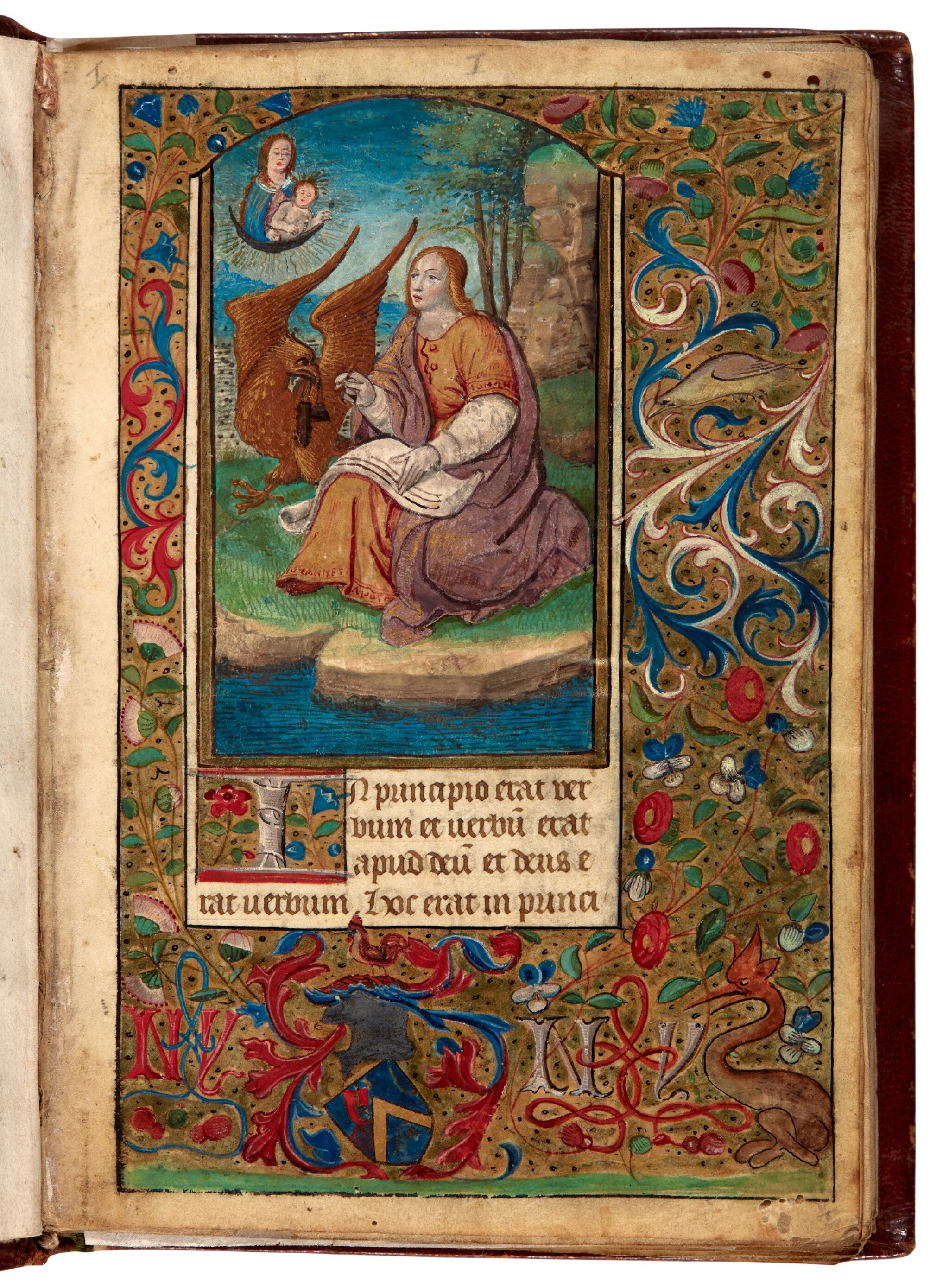 View full screen - View 1 of Lot 34. Book of Hours, Use of Reims, illuminated manuscript on vellum [France, late 15th century].