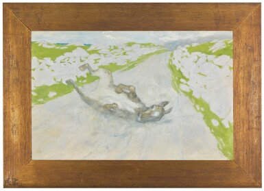 JACK BUTLER YEATS, R.H.A. | THE ROLLING DONKEY
