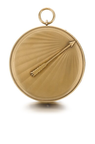 View 1. Thumbnail of Lot 29. BREGUET ET FILS  [ 寶璣]  | A RARE AND LARGE GOLD AND SILVER RUBY CYLINDER MONTRE À TACT  NO. 2065, 'SOUSCRIPTION À TACT' SOLD TO MONSIEUR COMPAIN ON 23 NOVEMBER 1824 FOR 1,300 FRANCS  [ 罕有大型黃金及銀製觸覺懷錶備紅寶石工字輪擒縱機芯,編號2065,1824年11月23日以1,300法郎售出].