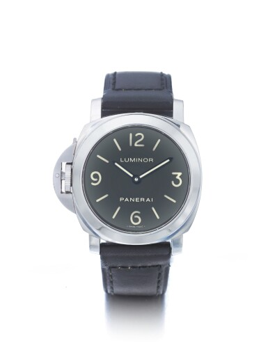 PANERAI |  LUMINOR PAM00219, A STAINLESS STEEL LEFT-HANDED WRISTWATCH WITH POWER RESERVE CIRCA 2006
