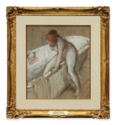 View 2. Thumbnail of Lot 15. Girl in Bathtub.