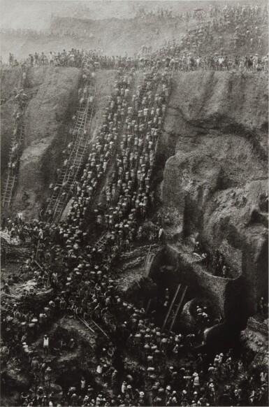 View 1. Thumbnail of Lot 10. 'Serra Pelada, Gold Mine, Brazil'.