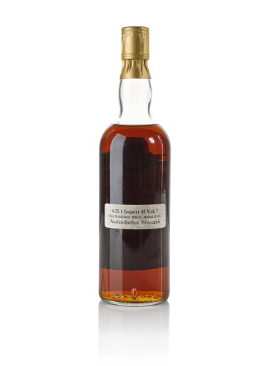 View 2. Thumbnail of Lot 16. The Macallan Royal Marriage 1948 and 1961 20 Year Old 43.0 abv NV .