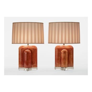 KARL SPRINGER | PAIR OF TABLE LAMPS