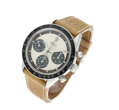 View 3. Thumbnail of Lot 14. Reference 6241 'Paul Newman' Daytona A stainless steel chronograph wristwatch, Circa 1968.