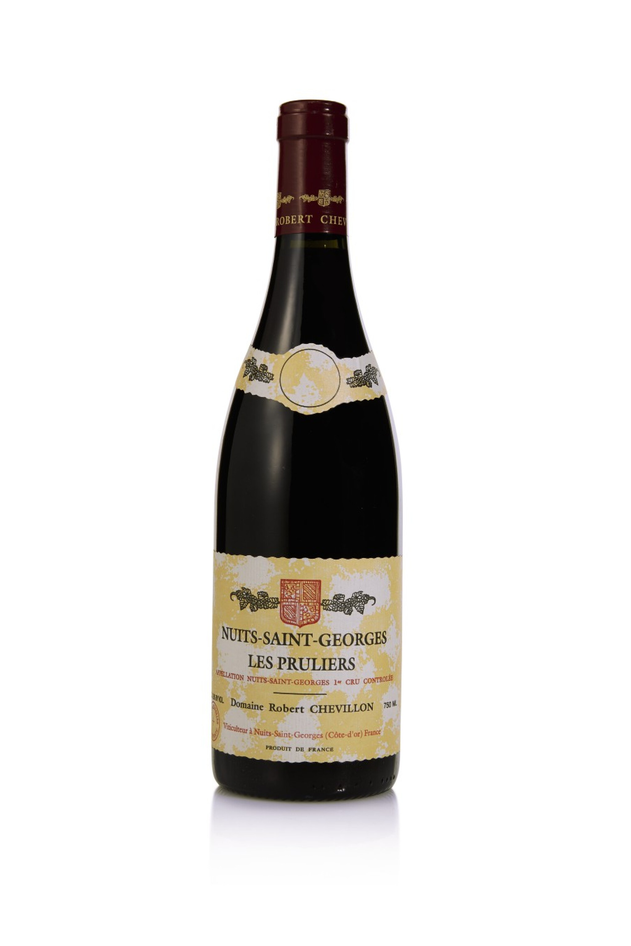 View full screen - View 1 of Lot 186. Nuits St. Georges, Les Pruliers 2009 Robert Chevillon (7 BT).