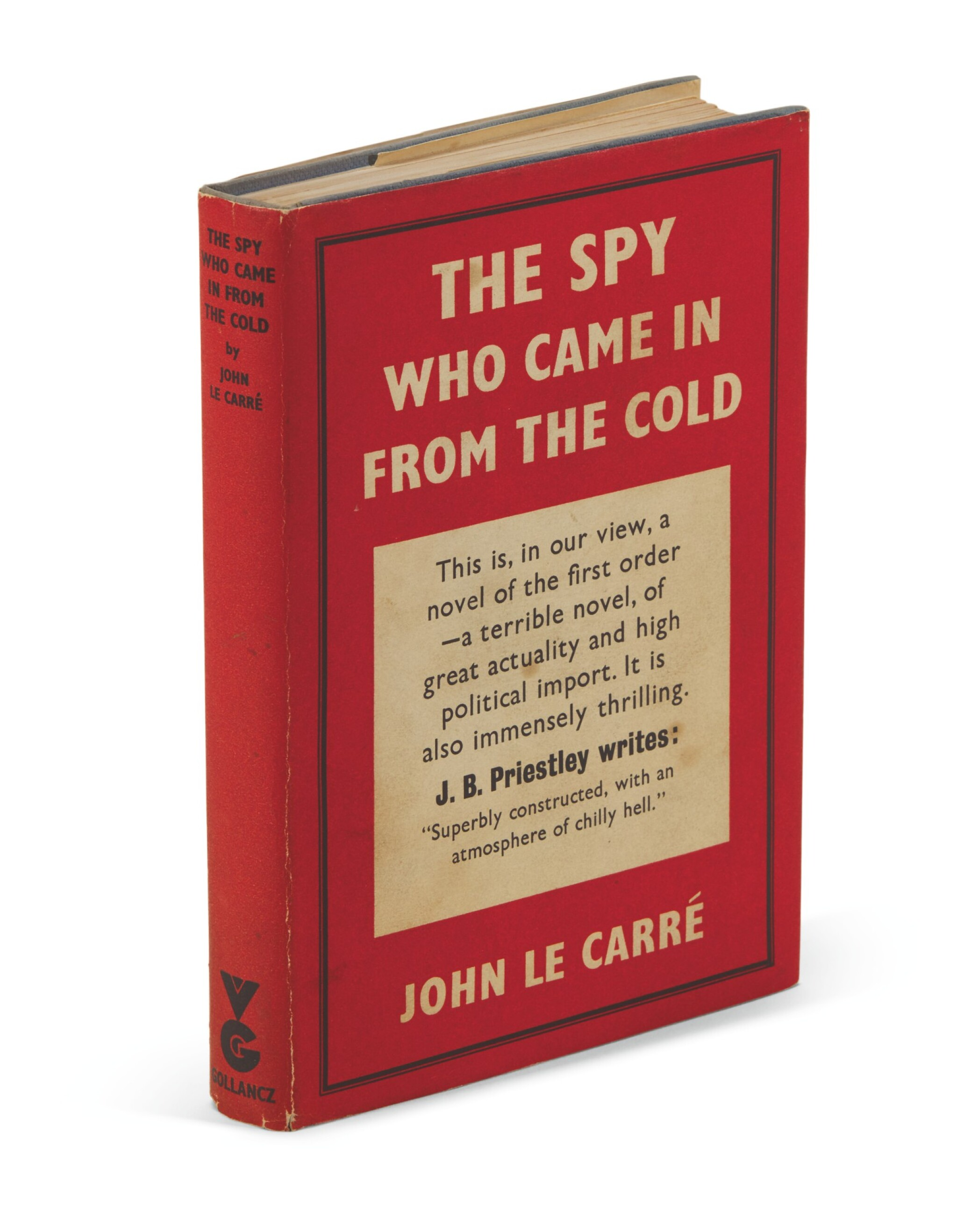 View full screen - View 1 of Lot 127. Le Carré, The Spy Who Came in from the Cold, 1963.