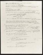 DYLAN   Typescript and manuscript lyrics, 1966