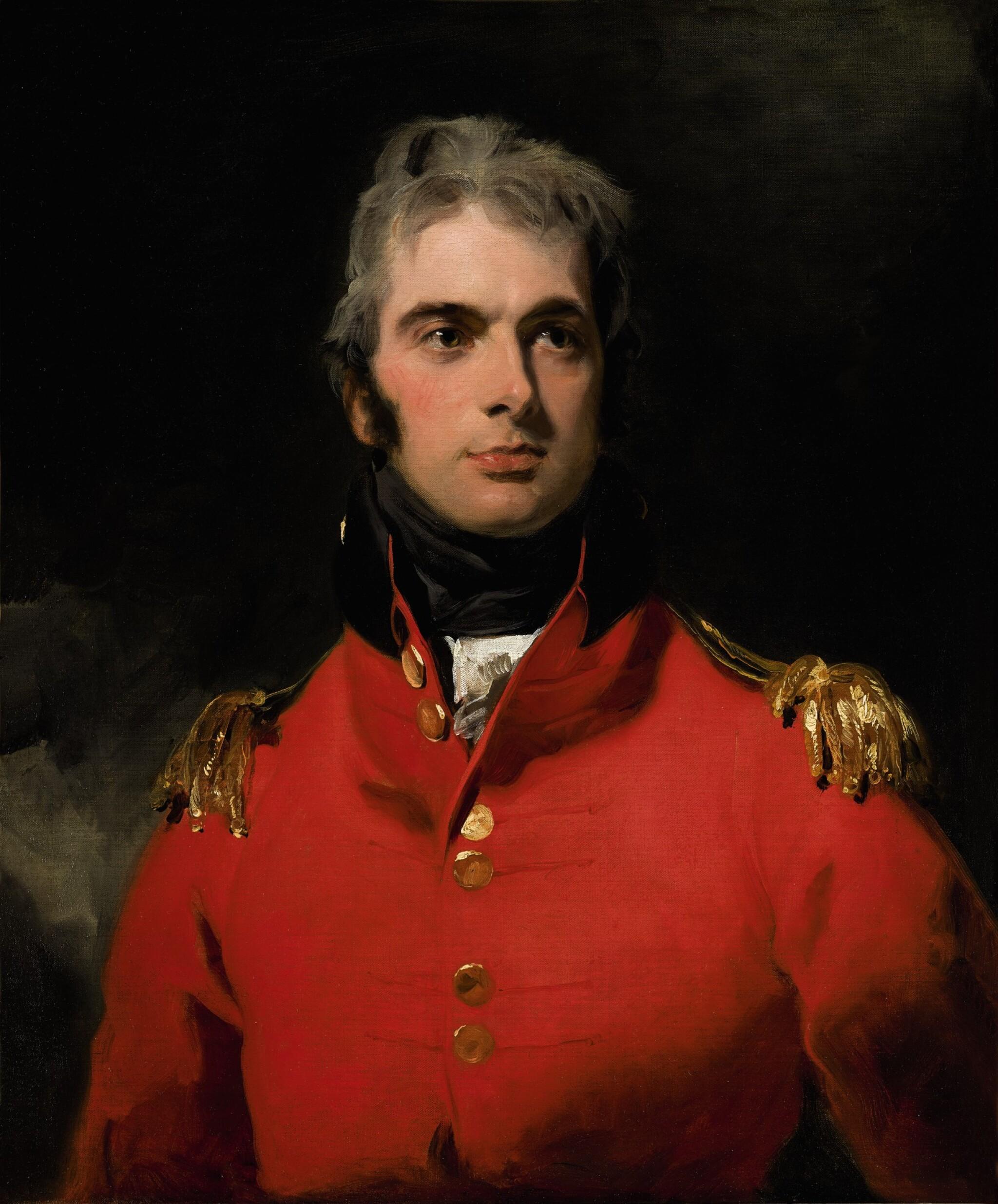 View 1 of Lot 30. Portrait of Lieutenant-General Sir Herbert Taylor (1775–1839) |《英國陸軍中將賀伯・泰勒(1775-1839)肖像》.