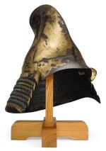 AN EBOSHI-STYLE KABUTO [HELMET], MOMOYAMA PERIOD | LATE 16TH CENTURY