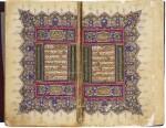 AN ILLUMINATED QUR'AN, COPIED BY IBRAHIM AL-LABIB B. AL-HAJJ 'UMAR AL-HARBUTI, TURKEY, OTTOMAN, DATED 1277 AH/1860-61 AD