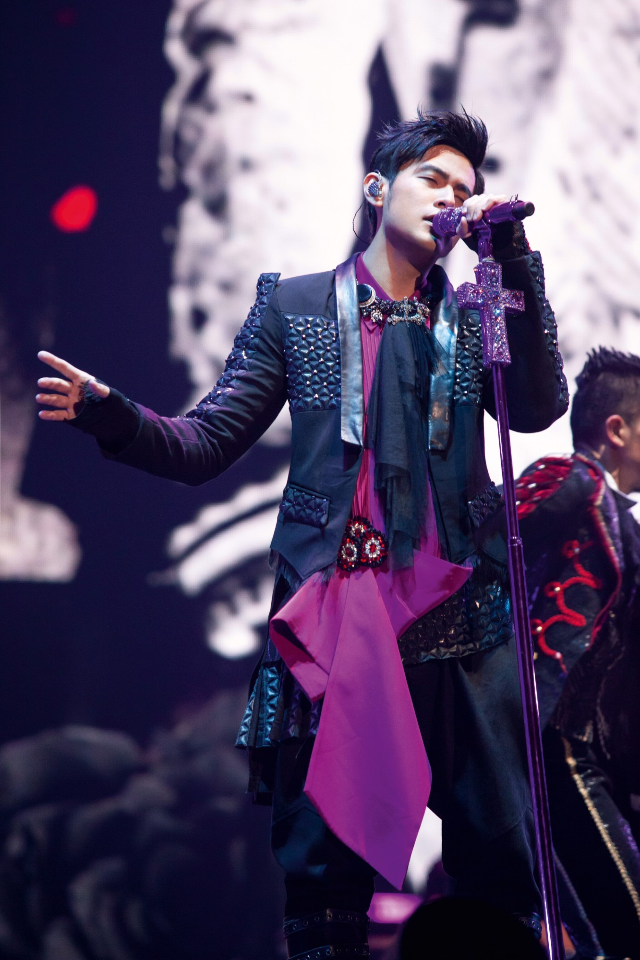 View full screen - View 1 of Lot 22. Tomas Chan   Jay Chou The Invincible 1 World Tour Costume (2016-2017) 周杰倫「地表最強1」世界巡迴演唱會舞台服裝(2016-2017).
