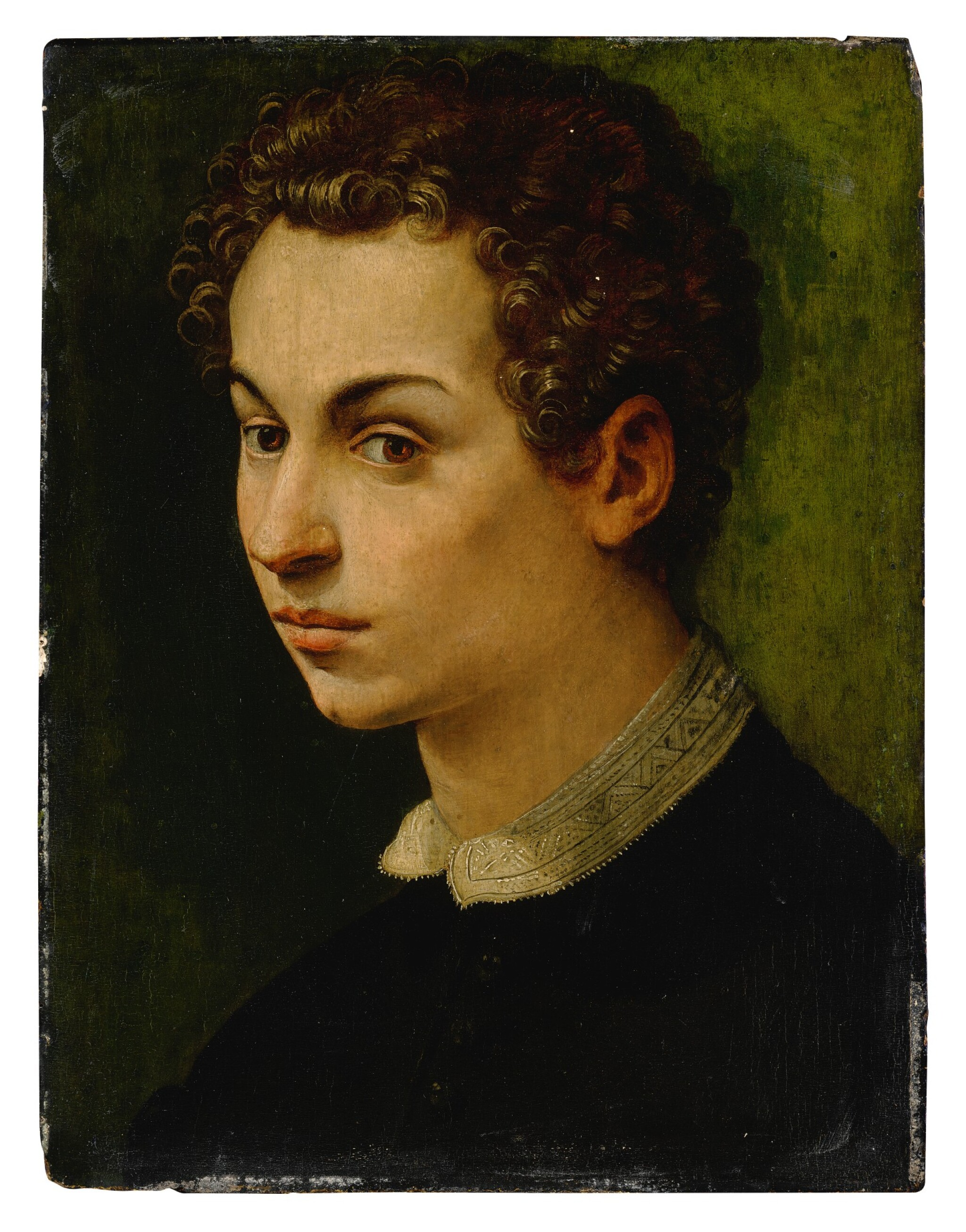 View full screen - View 1 of Lot 575. Portrait of a boy.