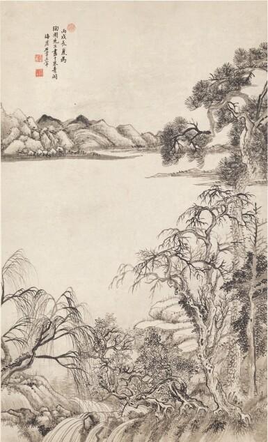 View 1. Thumbnail of Lot 3079. Wang Hui 1632 - 1717 王翬 1632-1717 | Landscape 山水.