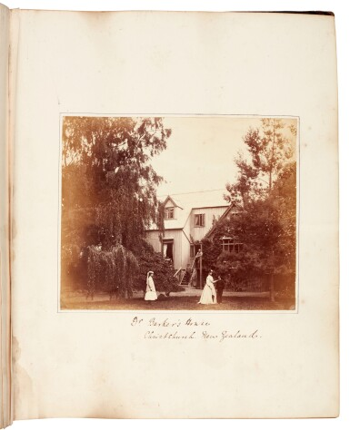 View 5. Thumbnail of Lot 40. BARKER, and others | Album of photographs of New Zealand, Jamaica and England, 1863-82.
