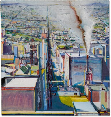 View 1 of Lot 225. WAYNE THIEBAUD | TOWARD TWIN PEAKS.