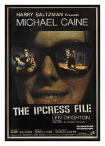 The Ipcress File (1965) poster, British