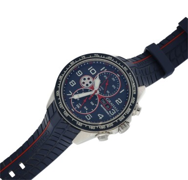 View 6. Thumbnail of Lot 230. SILVERSTONE RS A STAINLESS STEEL AUTOMATIC CHRONOGRAPH WRISTWATCH WITH DAY AND DATE, CIRCA 2015.