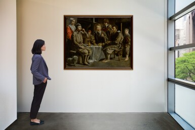 View 5. Thumbnail of Lot 52. The Peasant's Meal.