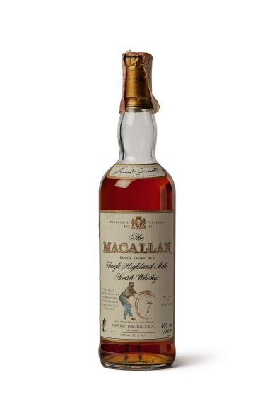 The Macallan, 7 Years Old (Armando Giovinetti Special Selection)