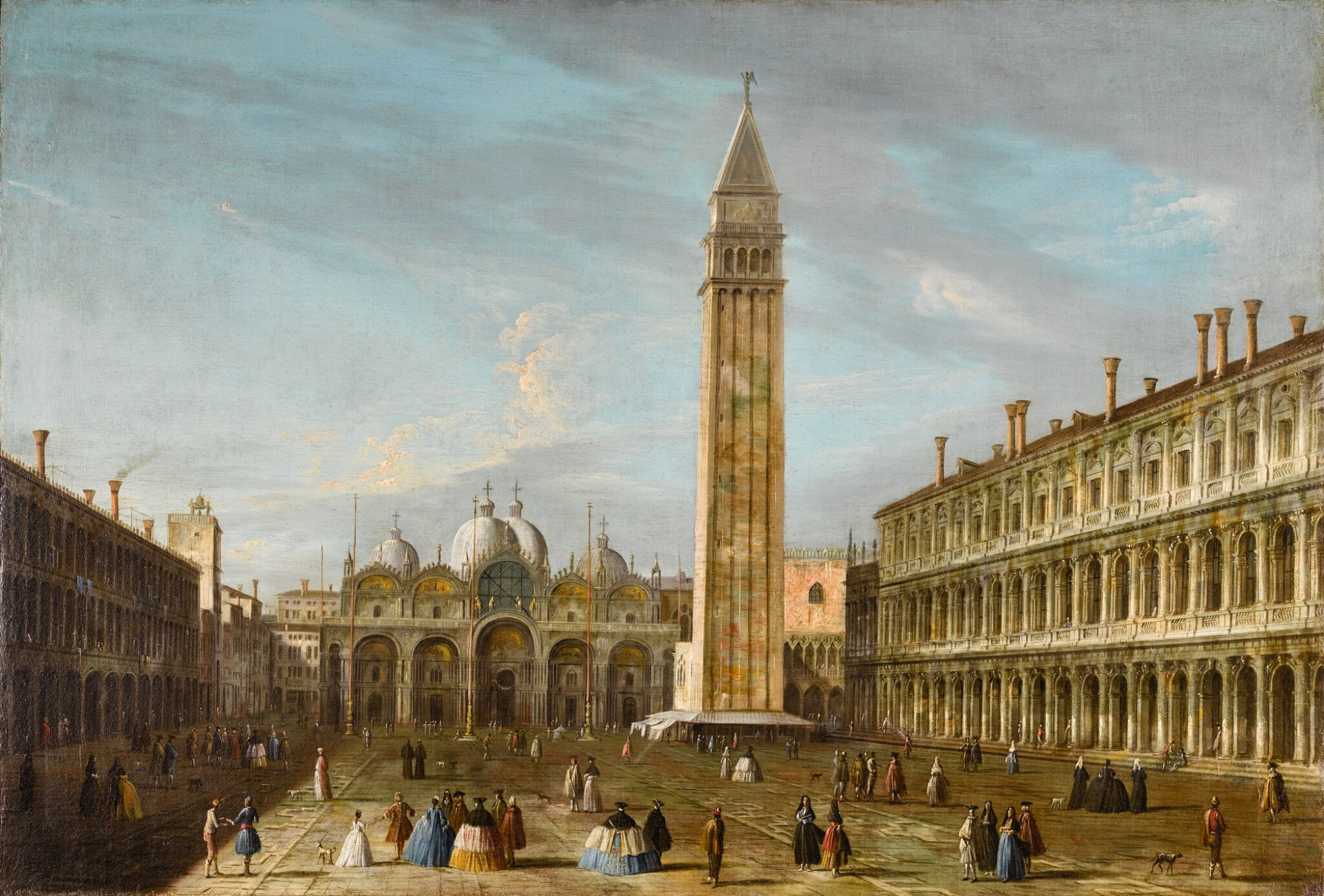 View full screen - View 1 of Lot 188. THE MASTER OF THE LANGMATT FOUNDATION VIEWS | Venice, the Piazza San Marco.