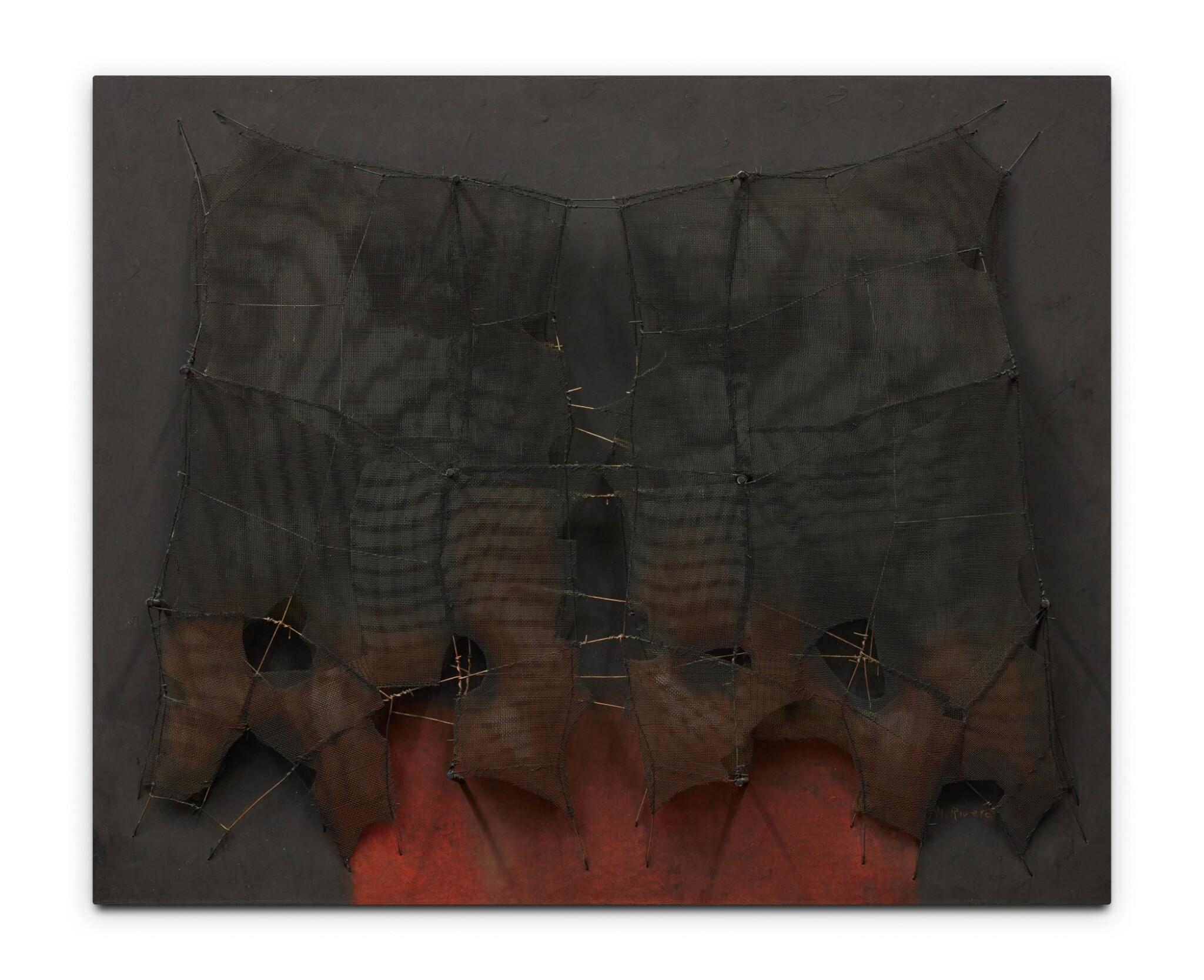 View full screen - View 1 of Lot 531. Metamorfosis (huella en el espejo no. 6).