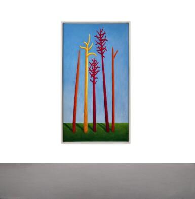 View 4. Thumbnail of Lot 1107. Nicolas Party 尼古拉斯・帕蒂   Trees 樹.