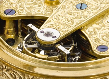 View 4. Thumbnail of Lot 93. IGNAZ RUZICZKA, IN WIEN [Ignaz Ruziczka,維也納] | A VERY FINE AND RARE GOLD OPEN-FACED ONE-MINUTE TOURBILLON WATCH WITH CHRONOMETER ESCAPEMENT AND RÉAUMUR THERMOMETER  CIRCA 1840 [極罕有黃金一分鐘陀飛輪懷錶備天文鐘擒縱系統及列氏溫度計,年份約1840].