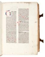 Alexander de Ales, Super universae theologiae, Venice, 1475, contemporary Germanic pigskin binding