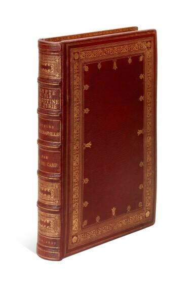 View 8. Thumbnail of Lot 93. Maxime Du Camp | Egypte, Nubie, Palestine et Syrie. Dessins Photographiques. Paris, 1852.