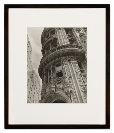 View 3. Thumbnail of Lot 61. 'Façade: Alwyn Court, 174-182 West 58th Street and 911-917 Seventh Avenue, Manhattan'.