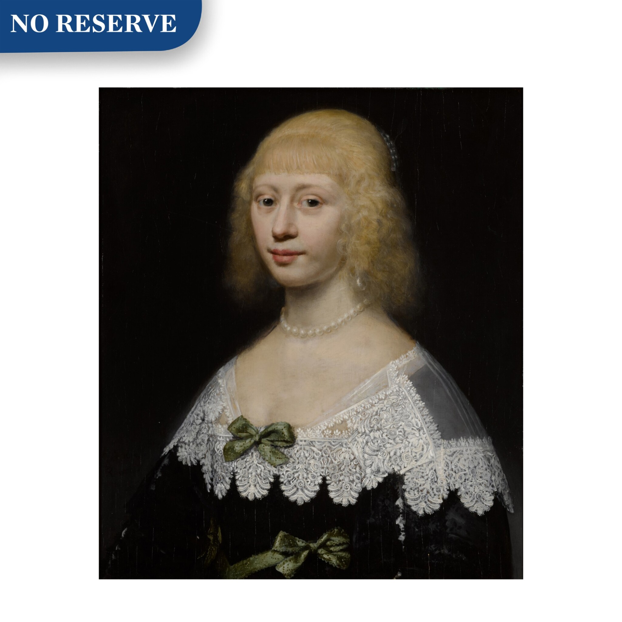 View full screen - View 1 of Lot 29. Portrait of a young woman, bust-length.