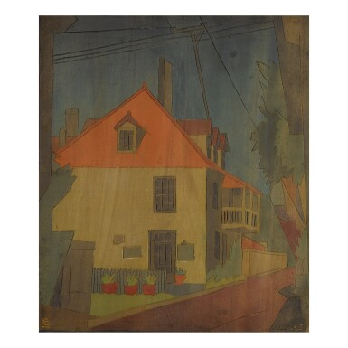 View 2. Thumbnail of Lot 43. BLANCHE LAZZELL | THE FATIO HOUSE II AND BLOCK 120.