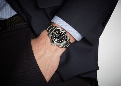 View 4. Thumbnail of Lot 3. ROLEX | SUBMARINER 'SCHLUMBERGER', REFERENCE 116610LN, STAINLESS STEEL WRISTWATCH WITH DATE AND BRACELET, CIRCA 2018.