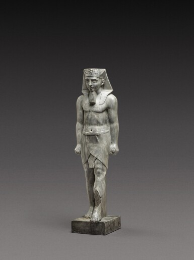 View 2. Thumbnail of Lot 115. French, in Ancient Egyptian Style | Pharaoh.
