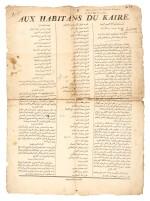 Egypt and Bonaparte. Three proclamations. 1798-1800