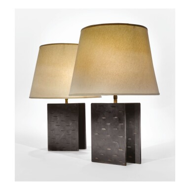 JEAN-MICHEL FRANK   PAIR OF TABLE LAMPS