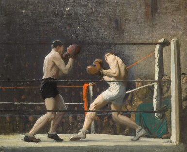 View 1. Thumbnail of Lot 10. Boxing in Camp (The Light Heavy-weights).