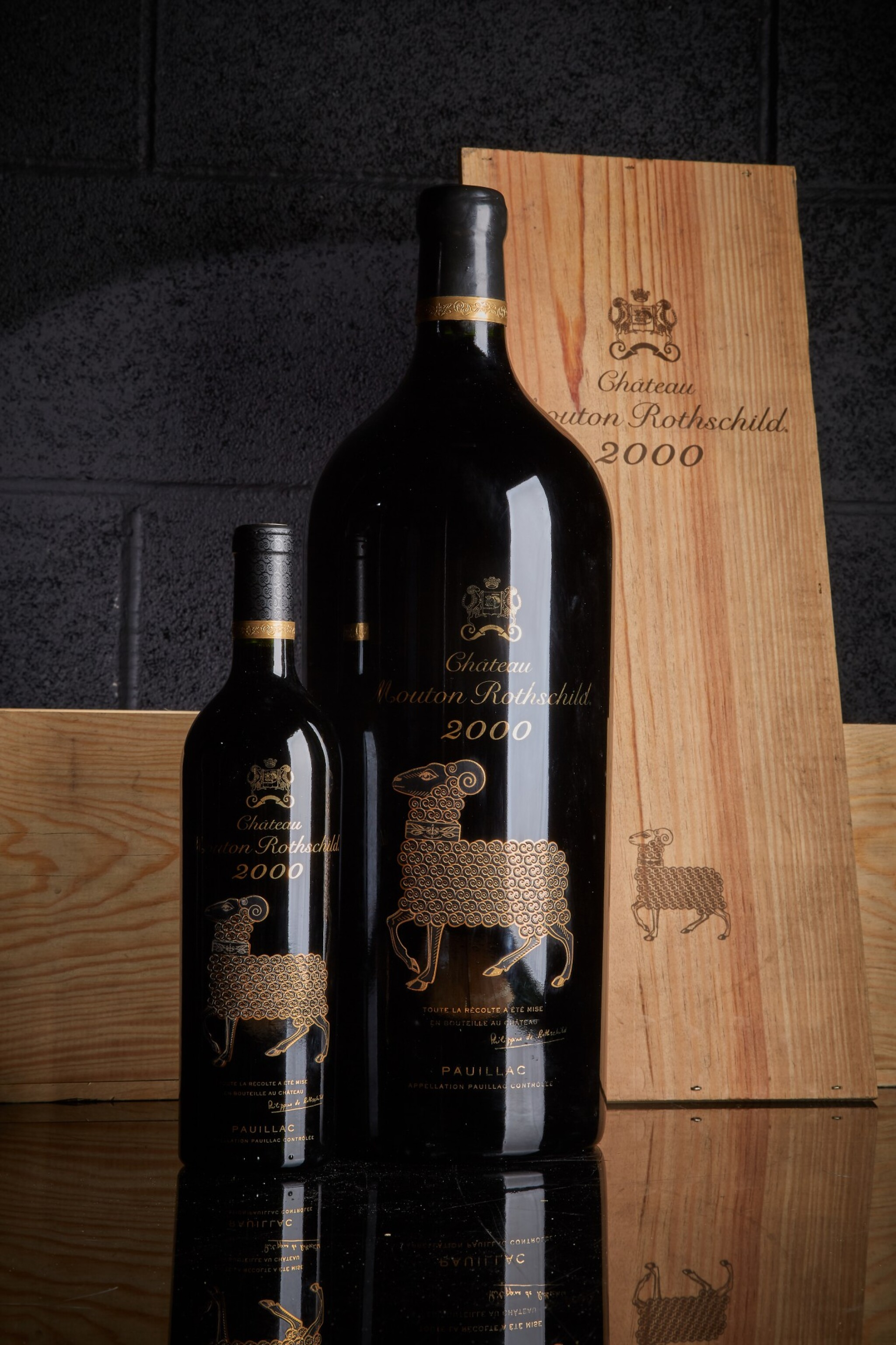 View full screen - View 1 of Lot 339. Château Mouton Rothschild 2000  (12 BT).