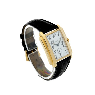 View 3. Thumbnail of Lot 159. PATEK PHILIPPE | REFERENCE 5024 GONDOLO A YELLOW GOLD RECTANGULAR WRISTWATCH, MADE IN 1994.