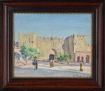 LUDWIG BLUM | The Damascus Gate, Jerusalem