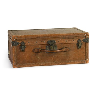 View 1. Thumbnail of Lot 46. A French leather travelling case by Goyard of Paris, early 20th century.