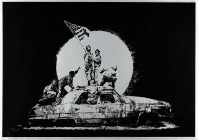 View 1. Thumbnail of Lot 47. Flag.