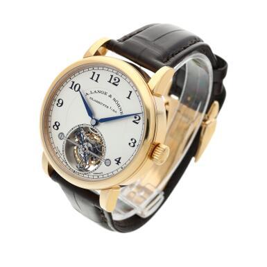 View 3. Thumbnail of Lot 296. Reference 730.032F 1815 Tourbillon   A pink gold tourbillon wristwatch with zero-reset mechanism, Circa 2016 .