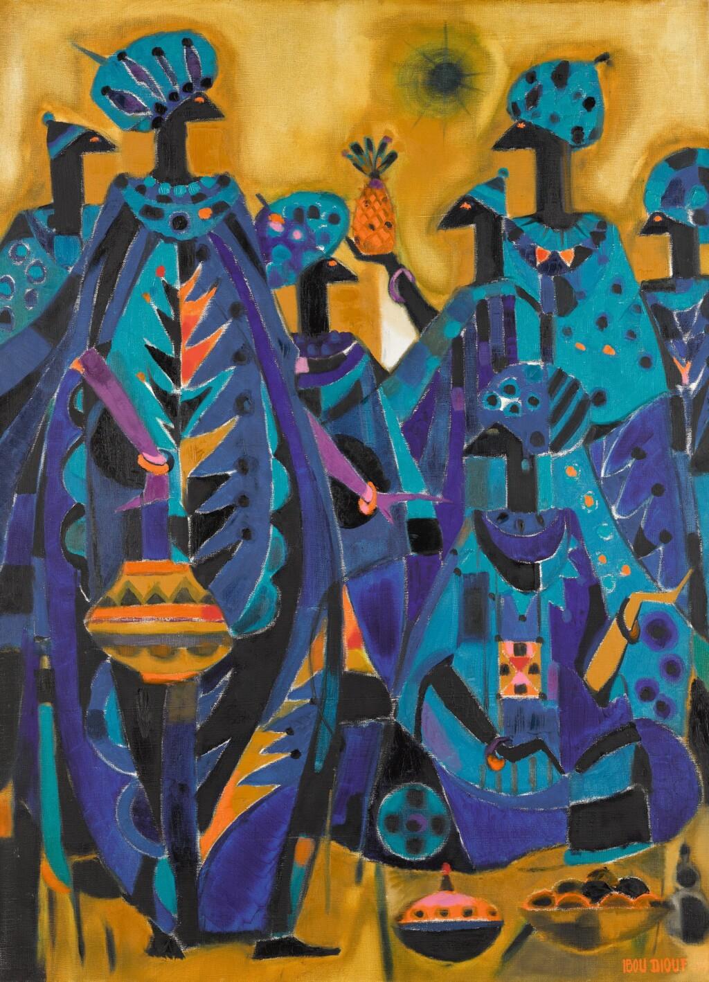 IBOU DIOUF | LE ROYAUME BLEU D'ENFANCE